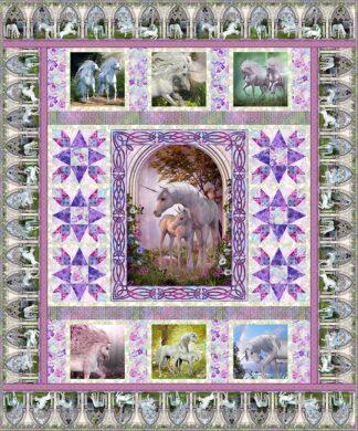 Unicorn Quilt Kit by Jason Yenter